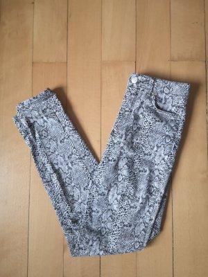 NA-KD Pantalone a vita alta multicolore