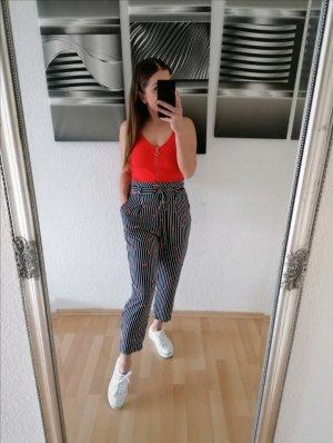 NA-KD Pantalón de cintura alta multicolor