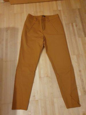 Only Pantalon en jersey ocre-orange doré