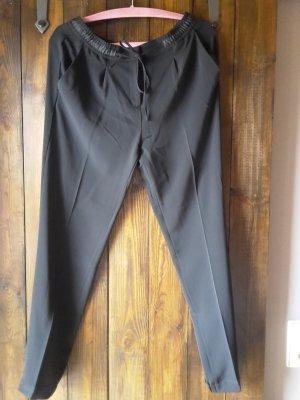 Opus Jersey Pants black polyester