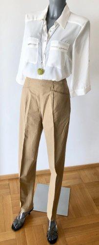 Orwell Pantalone a vita alta sabbia Cotone