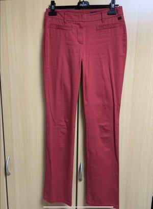Orwell Pantalone cargo rosso mattone