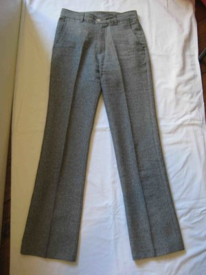 Pantalon en laine gris