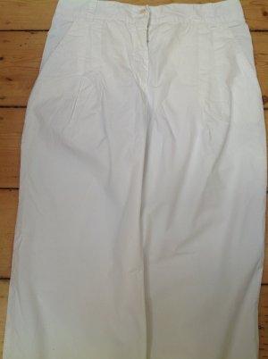 Patrizia Pepe Spodnie Marlena biały Bawełna