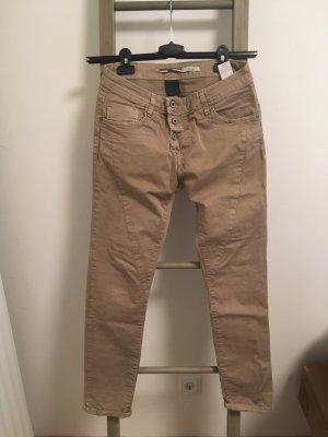 Please Pantalone boyfriend multicolore Cotone
