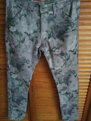Please Pantalone jersey multicolore