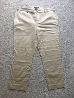 Lauren by Ralph Lauren 7/8 Length Trousers nude-cream