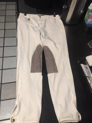 Polo Ralph Lauren Bryczesy w kolorze białej wełny-beżowy