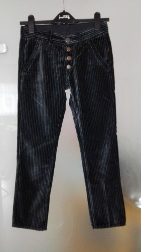 Replay Five-Pocket Trousers black-light grey