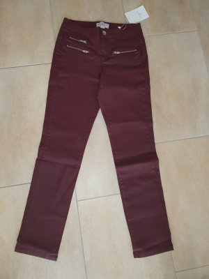 rick cardona Stretch Trousers bordeaux