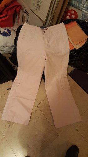Street One Pantalone a zampa d'elefante rosa chiaro