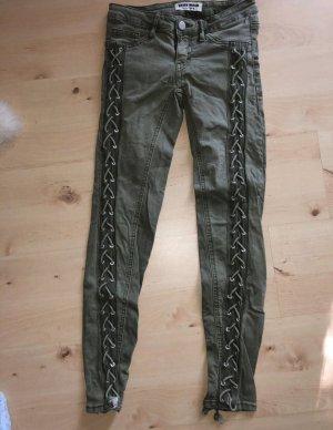 Tally Weijl Kaki broek groen-grijs-khaki