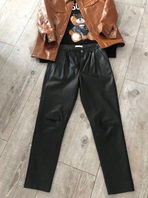 (The Mercer) NY Pantalón de cuero negro