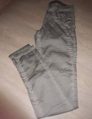 Tom Tailor Drainpipe Trousers silver-colored-light grey