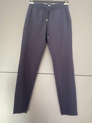 Tom Tailor Pantalon de jogging bleu foncé