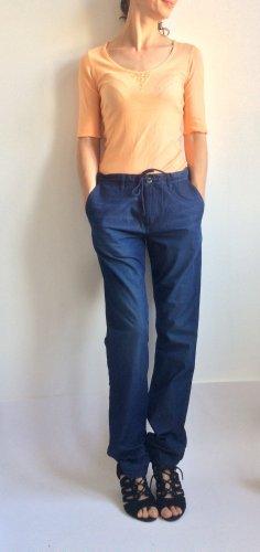 Tom Tailor Workowate jeansy ciemnoniebieski-niebieski