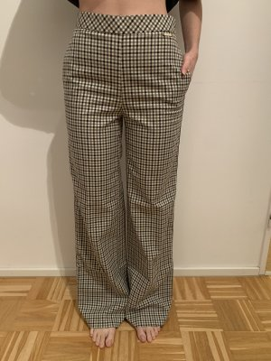 Twin set Pantalón anchos beige claro-gris