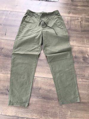Uniqlo Linen Pants green