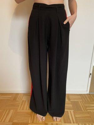 Worst Behavior Pantalón anchos negro-rojo