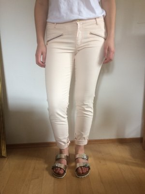 Hose von Zara in blassrosa sommerlich coated Größe 38