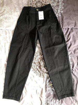 Zara Pantalone a pieghe nero