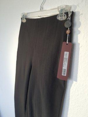 High - Everday Couture by Claire Campbell Pantalone elasticizzato nero Nylon