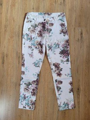 Made in Italy Pantalon cargo blanc