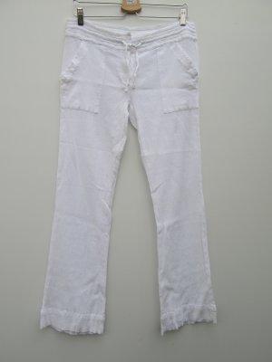Vintage Lage taille broek wit