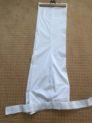 MNG Pantalon Marlene blanc viscose
