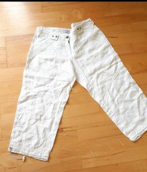 Blind Date Pantalon en lin blanc