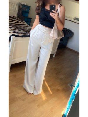 H&M Pantalone Marlene beige chiaro