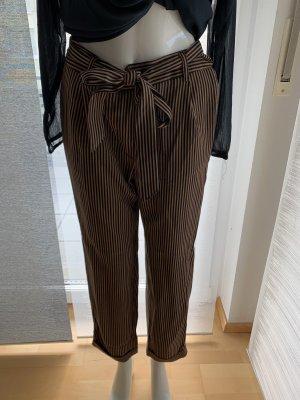 Mango Pantalone culotte bronzo-marrone scuro