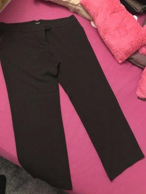 Orsay Lage taille broek donkerbruin-zwart bruin