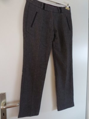 Chevignon Woolen Trousers grey brown wool