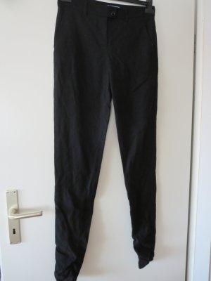 MOSCHINO Cheap & Chic Wełniane spodnie czarny Wełna