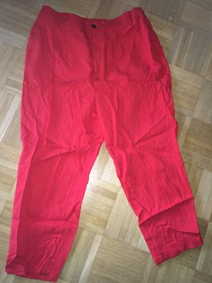 Zara Pleated Trousers red