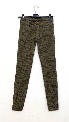 Zara Pantalone elasticizzato multicolore