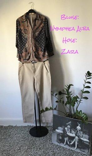 Hose / Zara / Gr. 40 / beige / sand - neu