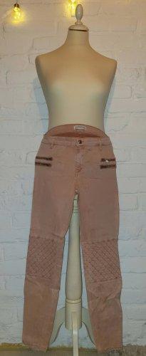 Zara Woman Stretch Trousers apricot