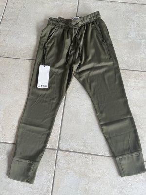 Zhrill Pantalone boyfriend grigio-verde Poliestere