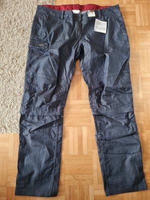 Decathlon Pantalone cargo blu scuro