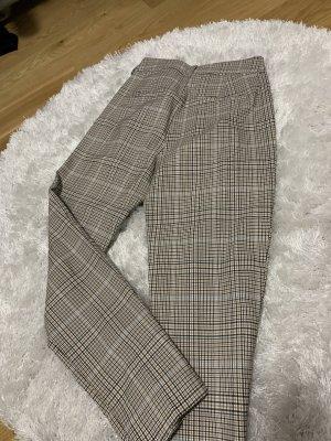 Reserved Pantalon taille haute blanc cassé