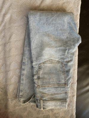 08/16 Workowate jeansy błękitny