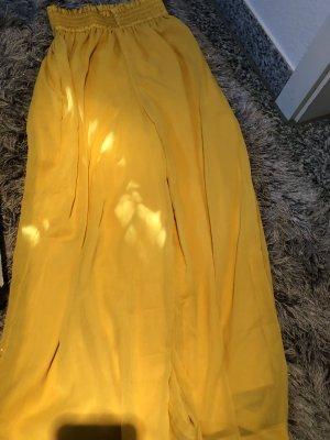 Pantalon Marlene jaune primevère
