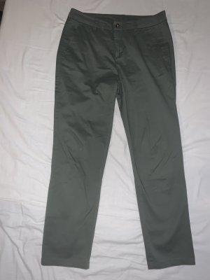 United Colors of Benetton Boyfriend Trousers khaki-green grey