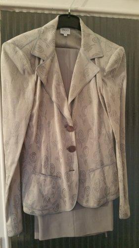 Armani Collezioni Tailleur-pantalon gris clair
