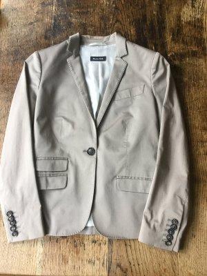 Massimo Dutti Trouser Suit oatmeal