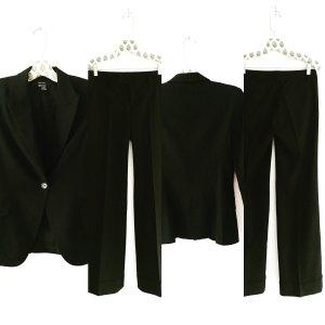 hosen anzug / blazer / hose / suit / zara / schwarz / businesslook / classy