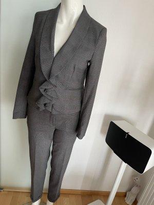 Hosen Anzug Blazer mit Rüschen und Hose Gr 36 S