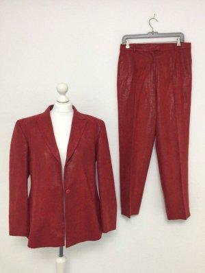 Hosen Anzug Blazer xxl 42 44 neu snake blogger vintage festlich Oberteil plus size